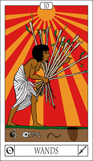 Card Of The Day: 10 Of Wands