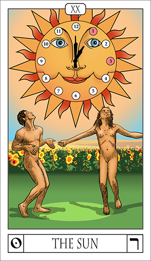 Card Of The Day: The Sun