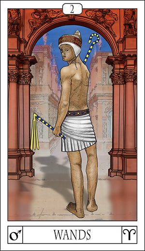 Card Of The Day: 2 Of Wands