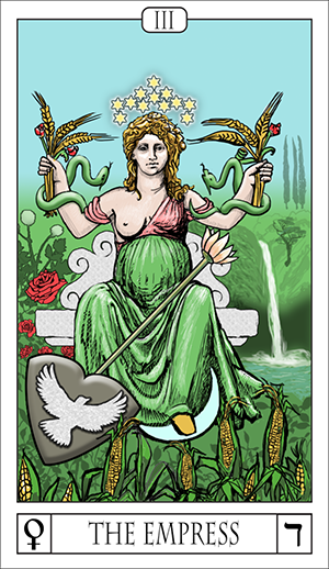 Card Of The Day: The Empress