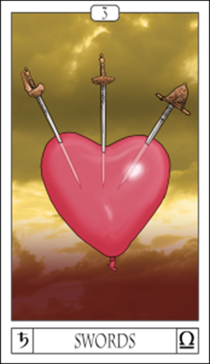 Card Of The Day: 3 Of Swords
