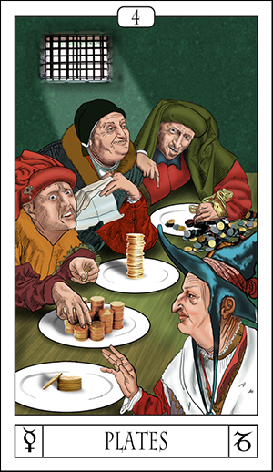 Card Of The Day: Four Of Plates