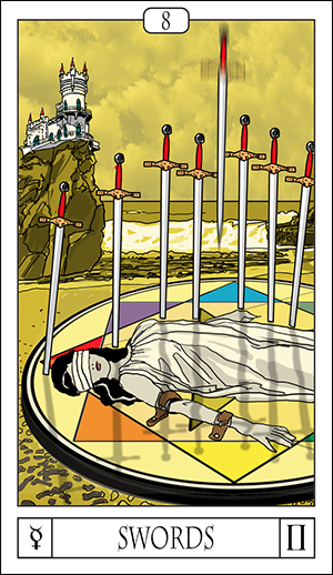 Card For The Day: 8 Of Swords