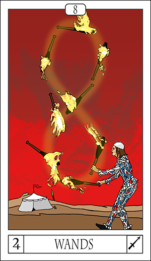 Card Of The Day: 8 Of Wands