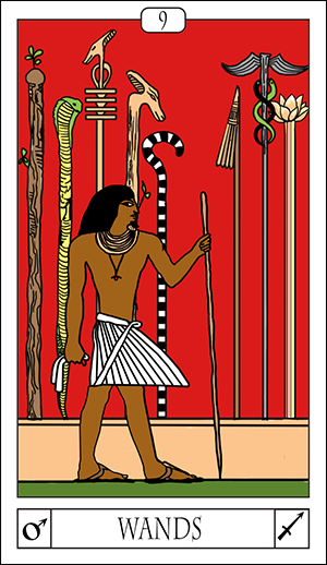 Card Of The Day: 9 Of Wands
