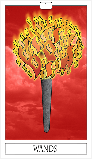 Card Of The Day: Ace Of Wands
