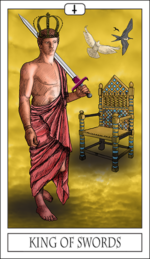 Card Of The Day: King Of Swords
