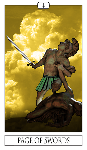 Card Of The Day: Page Of Swords