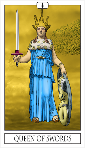 Card Of The Day – Queen Of Swords