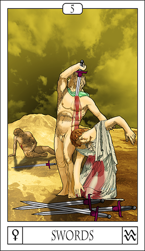 Card Of The Day: 5 Of Swords