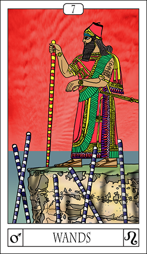 Card Of The Day: 7 Of Wands
