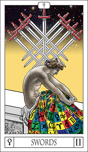 Card Of The Day: 9 Of Swords