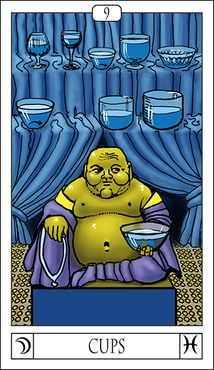 Card Of The Day: 9 Of Cups