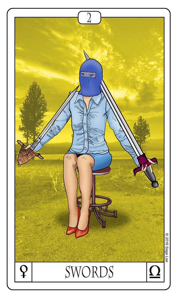 Card Of The Day: 2 Of Swords
