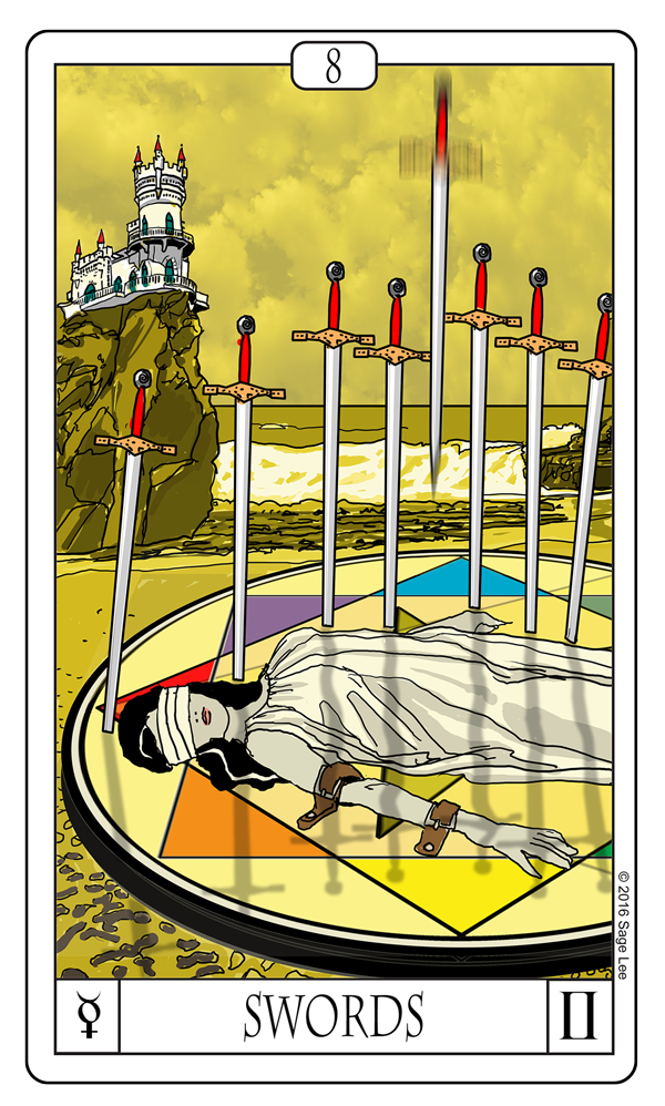Card Of The Day: 8 Of Swords
