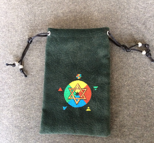Sage Tarot Companion Bag